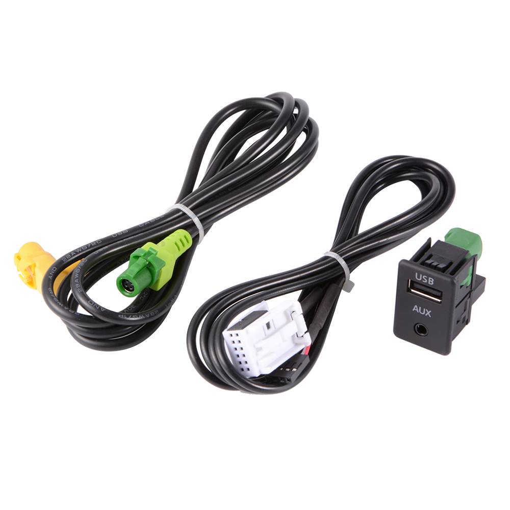 Usb Aux Switch Wire Cable Adapter For Bmw 3 5 Series E87