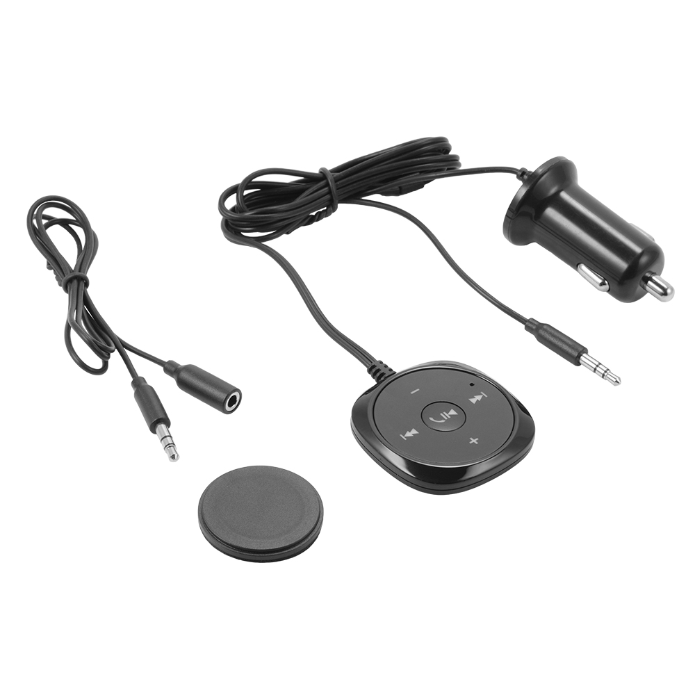 Bluetooth Link Car Kit With Aux In Interface Usb Charger: Bluetooth Cigarette Lighter Car Kit USB Charger AUX MP3