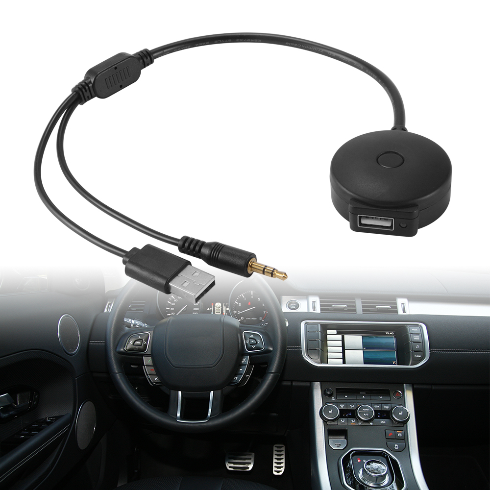 usb cable w aux to usb bluetooth music adapter for. Black Bedroom Furniture Sets. Home Design Ideas