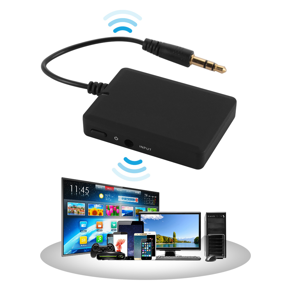 Bluetooth 3.5 A2DP Stereo Audio Adapter Dongle Transmitter For TV Speaker AC981