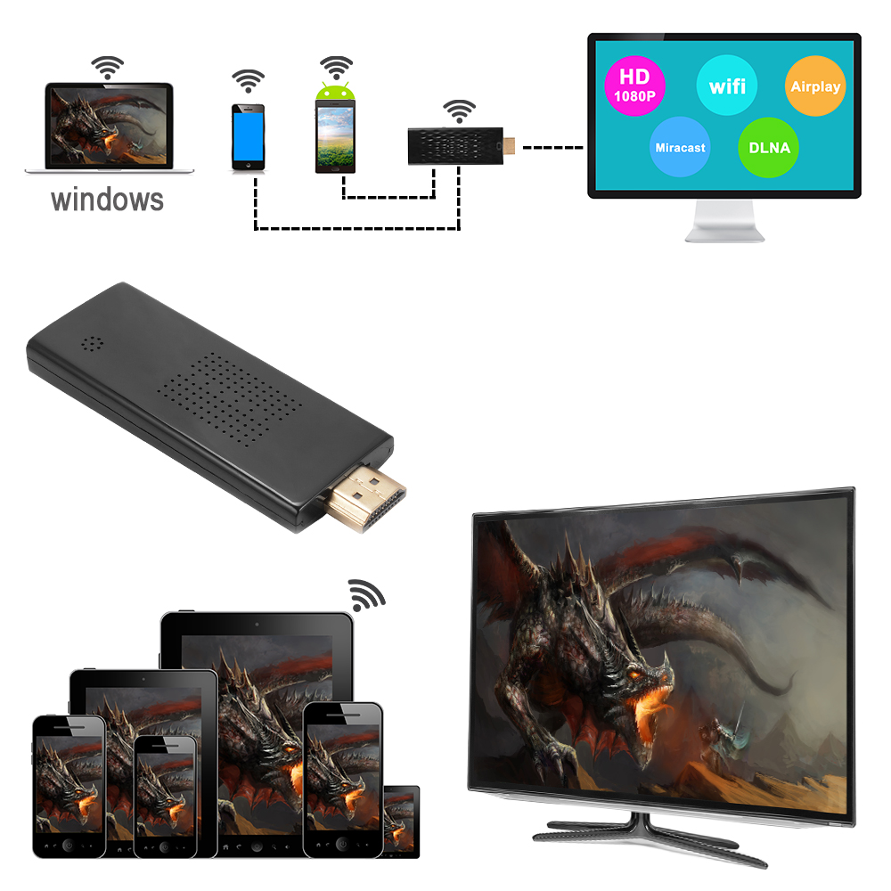 does iphone support miracast miracast wifi display hdmi hd 1080p dongle media wireless 9008