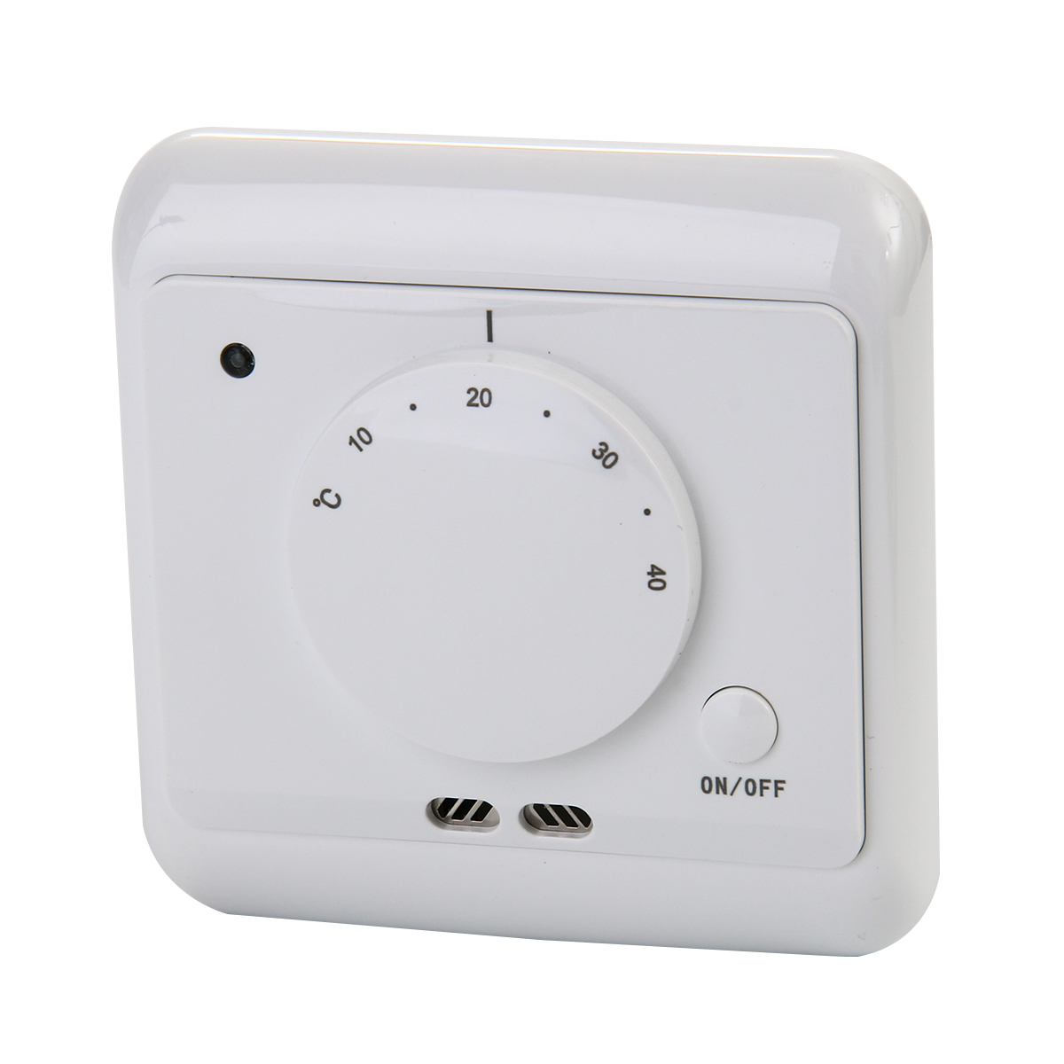 230v led raumthermostat fu bodenheizung thermostat mit ein aus schalter bi88 ebay. Black Bedroom Furniture Sets. Home Design Ideas