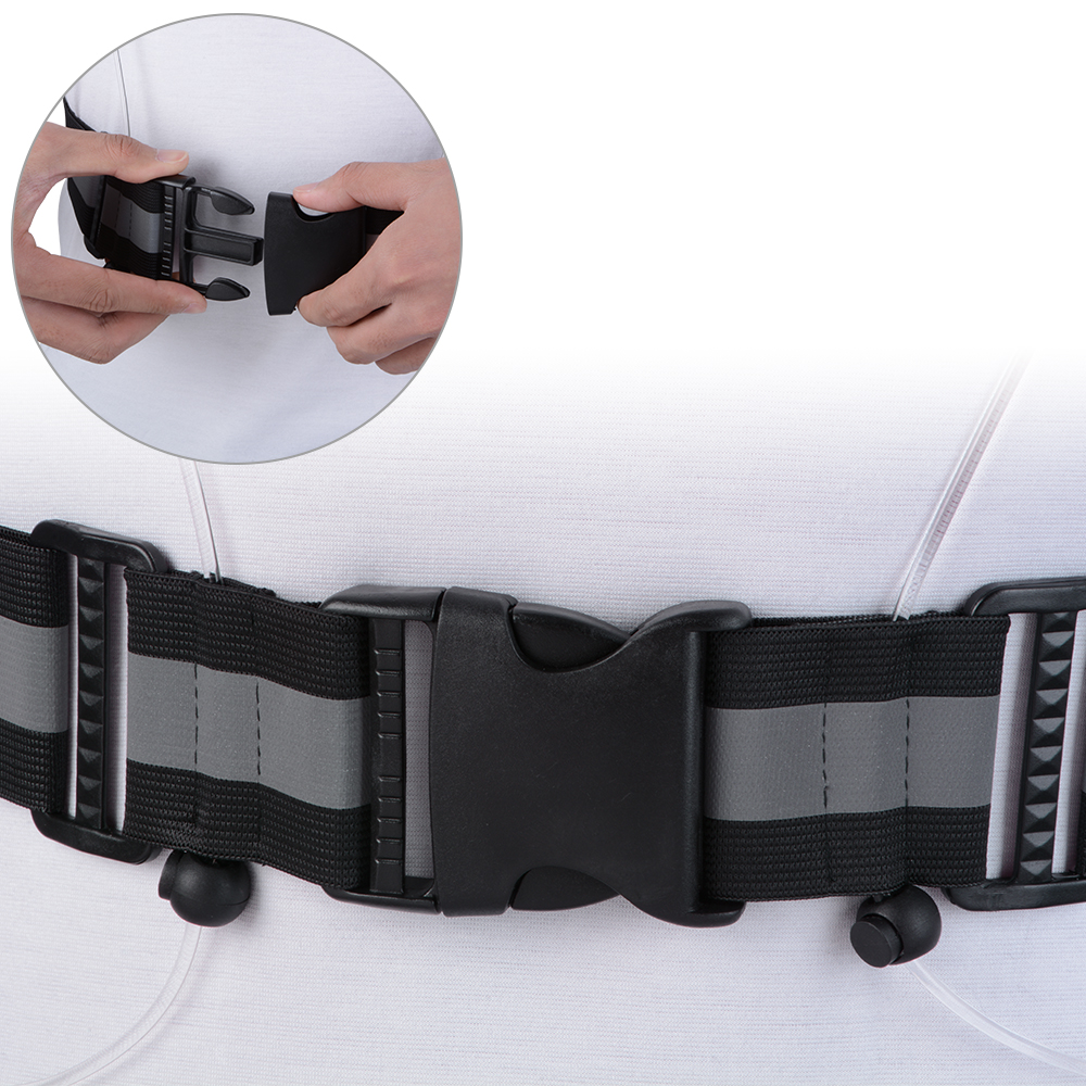 Men's Belts Purposeful High Visibility Reflective Safety Security Belt For Night Running Walking Biking