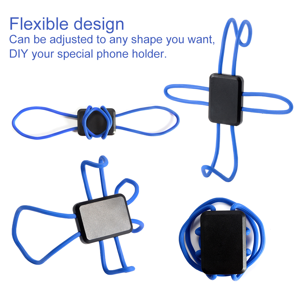 2x universal car flexible grip stand mount holder hanger for mobile phone dc789 ebay. Black Bedroom Furniture Sets. Home Design Ideas