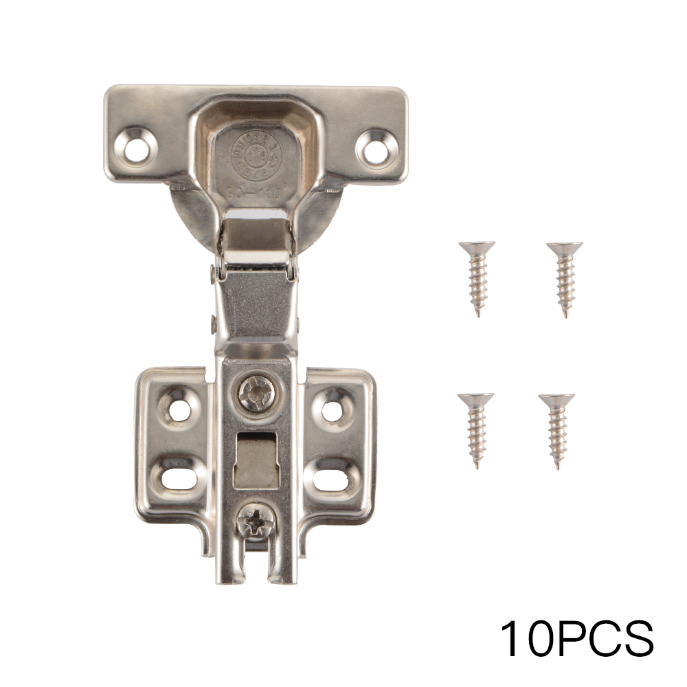 Details About 10 X Metal Hydraulic Cabinet Soft Close Cupboard Door Hinges  Half Overlay HS1258