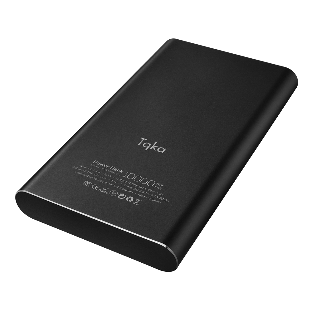 tqka 10000mah 2 usb ladeger t akku externes power bank f r universal handy ka001 ebay. Black Bedroom Furniture Sets. Home Design Ideas