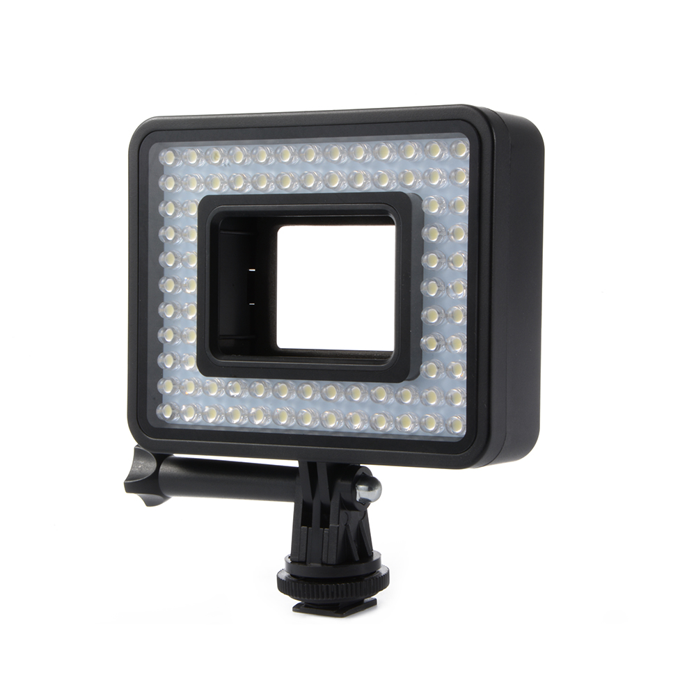 80 led bright licht panel video beleuchtung monopod f r gopro hero 5 ld1041 ebay. Black Bedroom Furniture Sets. Home Design Ideas