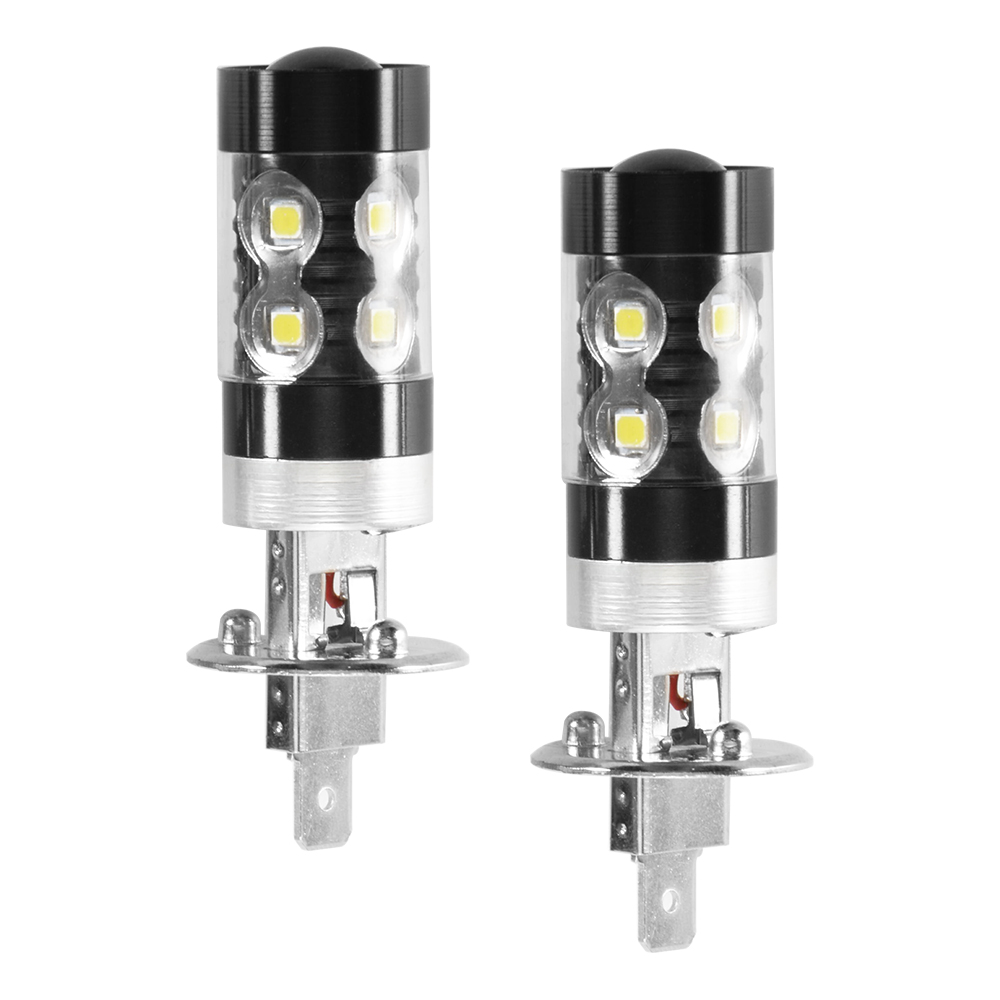 100w ampoule h1 10 smd led drl feux anti brouillard phare lampe blanc ld1510 ebay. Black Bedroom Furniture Sets. Home Design Ideas
