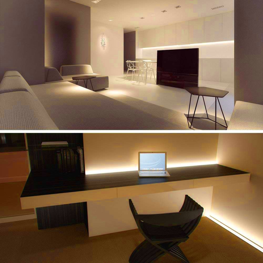 Details About Battery Ed Led Strip Light Usb Kit For Closet Wardrobe Tv