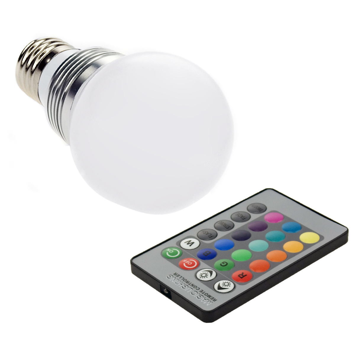 new e27 rgb led ampoule changement de couleur lampe spot bulb telecommande ld229 ebay. Black Bedroom Furniture Sets. Home Design Ideas