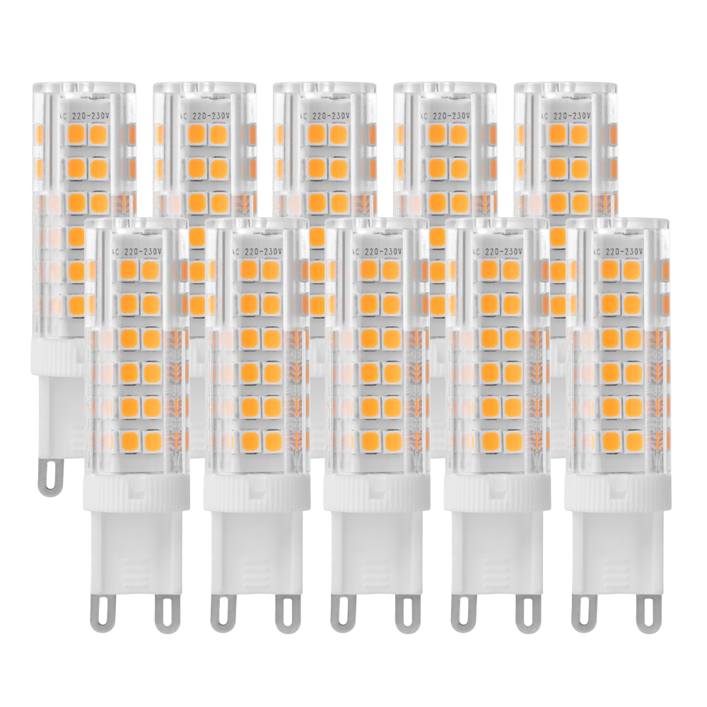 Sunix 4 10x 2835 G9 Led Ceramic Light Bulb 7w Lamp Energy Saving Cool Warm White Ebay
