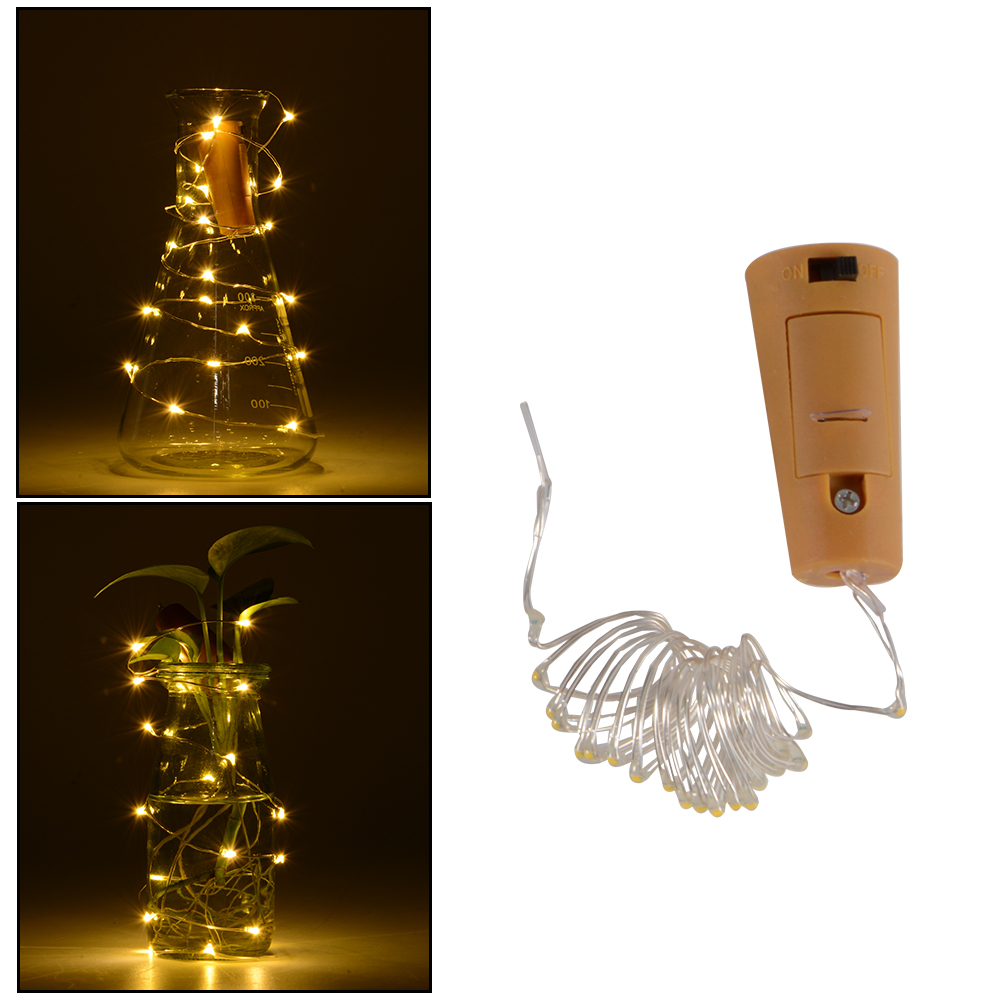 Details About 6pcs 1 2m Led Copper Wire Stopper Cork Shaped Night Light Wine Bottle Lamp