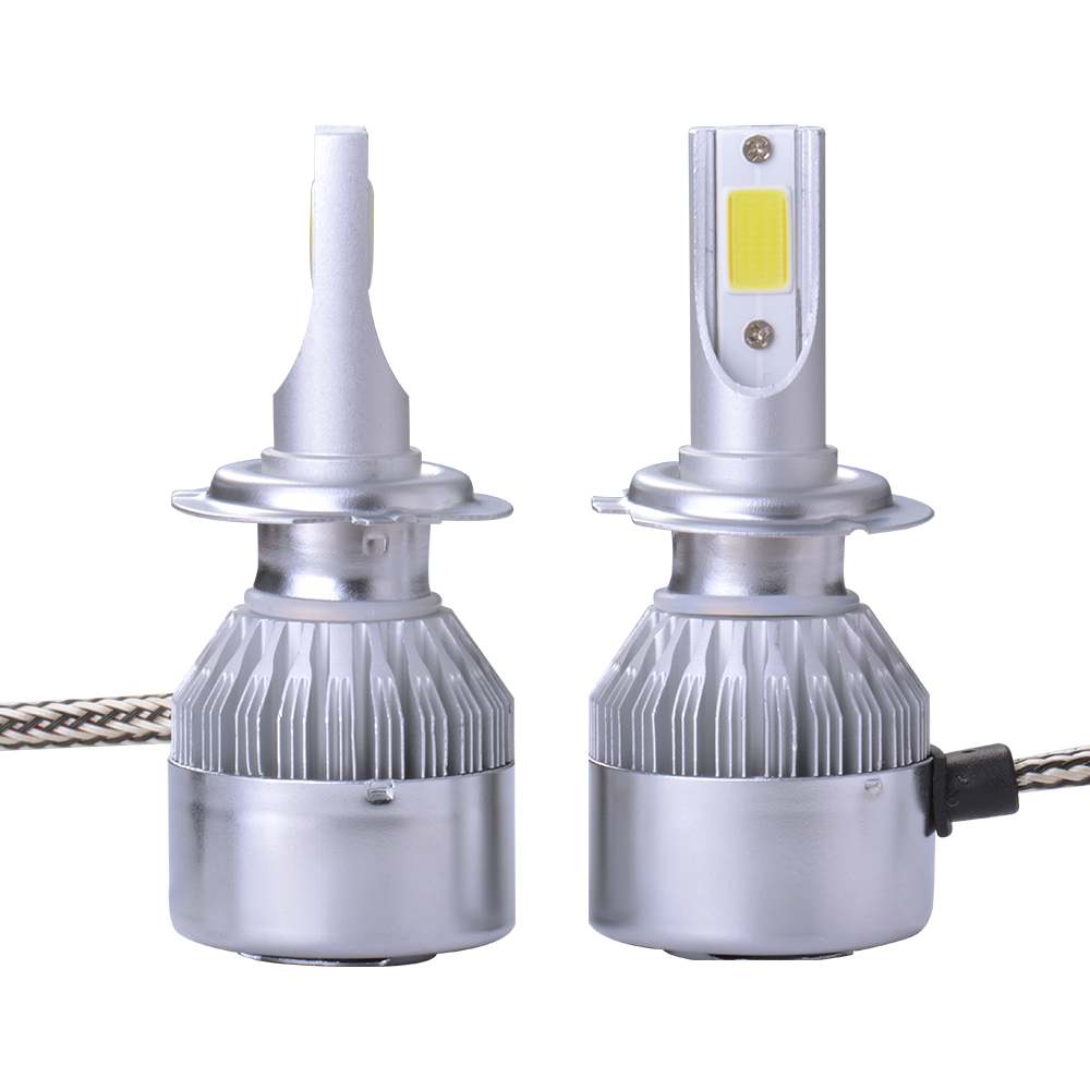 2x 20000lm 55w lampe h7 phare voiture led cree ventilateur refroidissement ld974 ebay. Black Bedroom Furniture Sets. Home Design Ideas