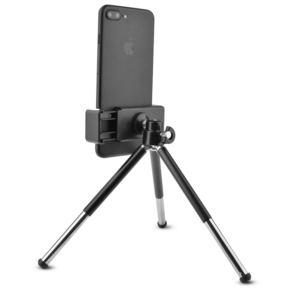 low priced 41bae cae8d Details about Camera Mini Tripod Stand Holder Bluetooth Shutter Remote for  iPhone 7 plus LF780