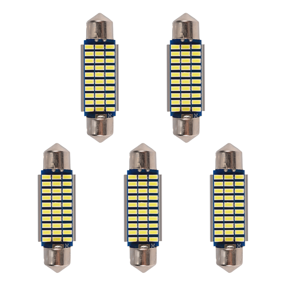 5x 30smd 42mm 3014 led soffitte canbus auto 12v. Black Bedroom Furniture Sets. Home Design Ideas