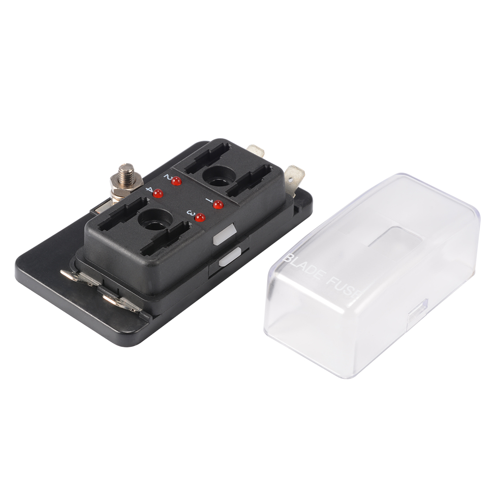 MA1177 E 10 main1 4 way circuit blade fuse box block holder 32v for car ato atc boat 4 way fuse box at crackthecode.co