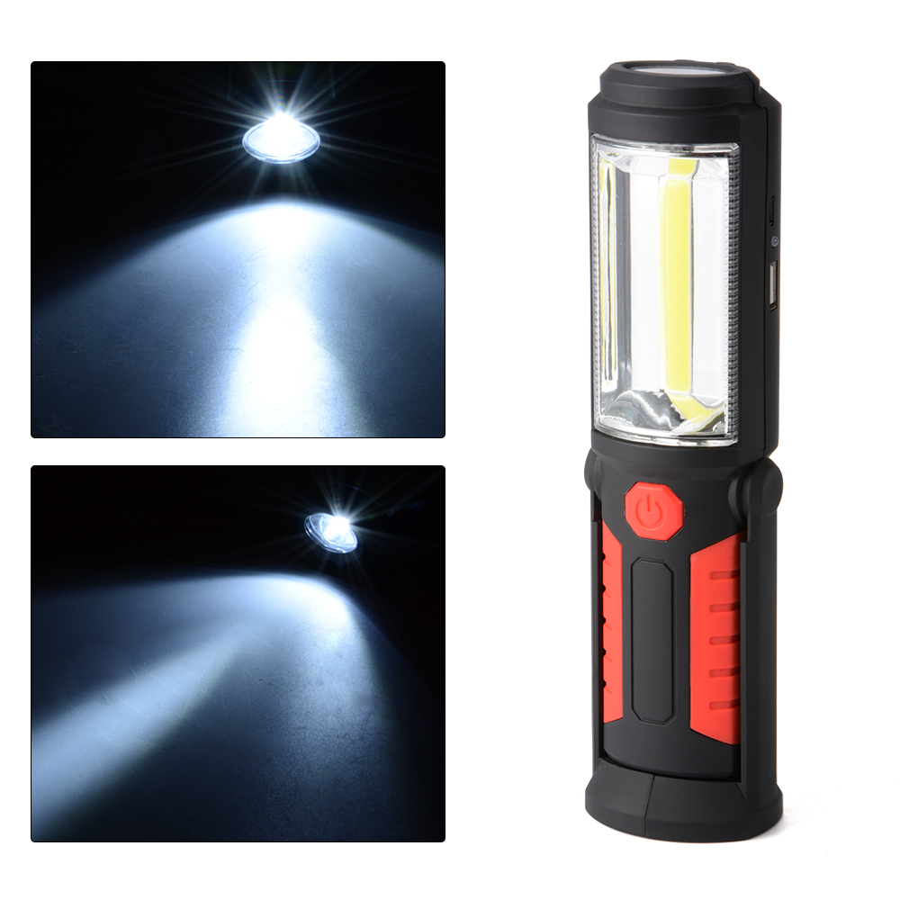 Led Work Light Magnet Lamp Torch Rechargeable Cordless: LED Work Light Rechargeable Hiking Lamp Outdoor Flashlight