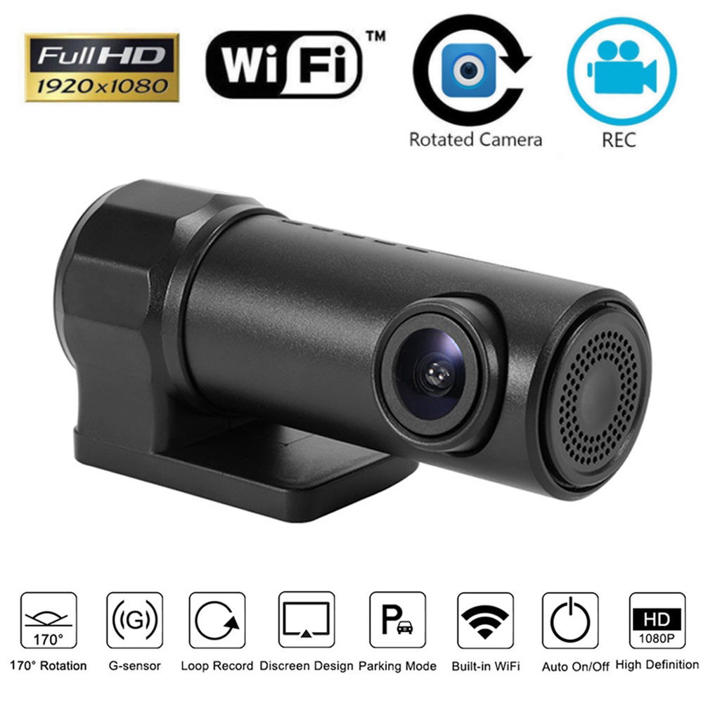 wifi auto kamera hd 1080p dashcam recorder kfz dvr. Black Bedroom Furniture Sets. Home Design Ideas