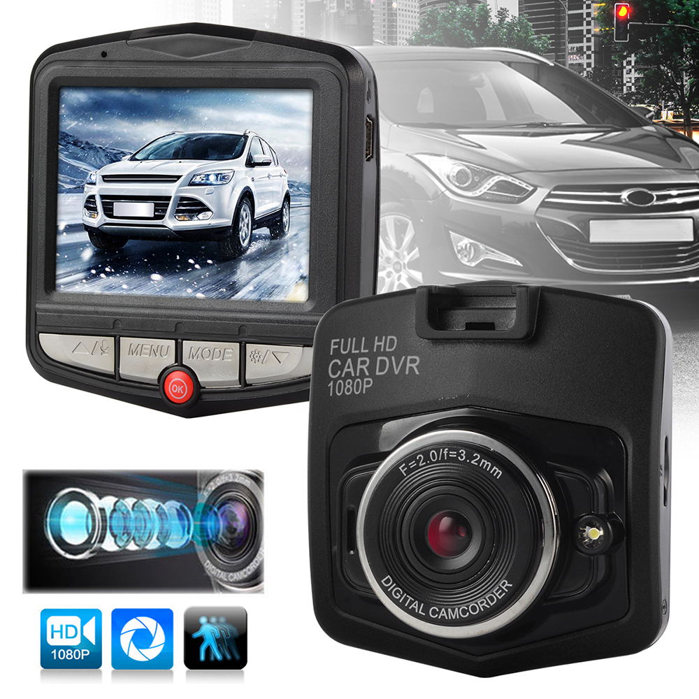 2 4 fhd 120 1080p car dvr vehicle camera video recorder. Black Bedroom Furniture Sets. Home Design Ideas