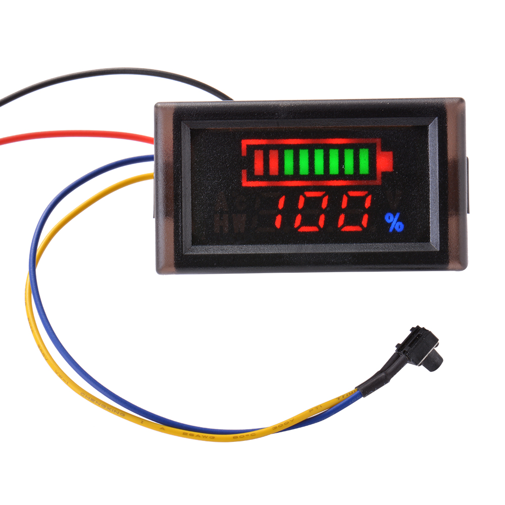 12v 24v 36v blei s ure batterie kapazit t anzeige voltmeter spannung led ma927 ebay. Black Bedroom Furniture Sets. Home Design Ideas