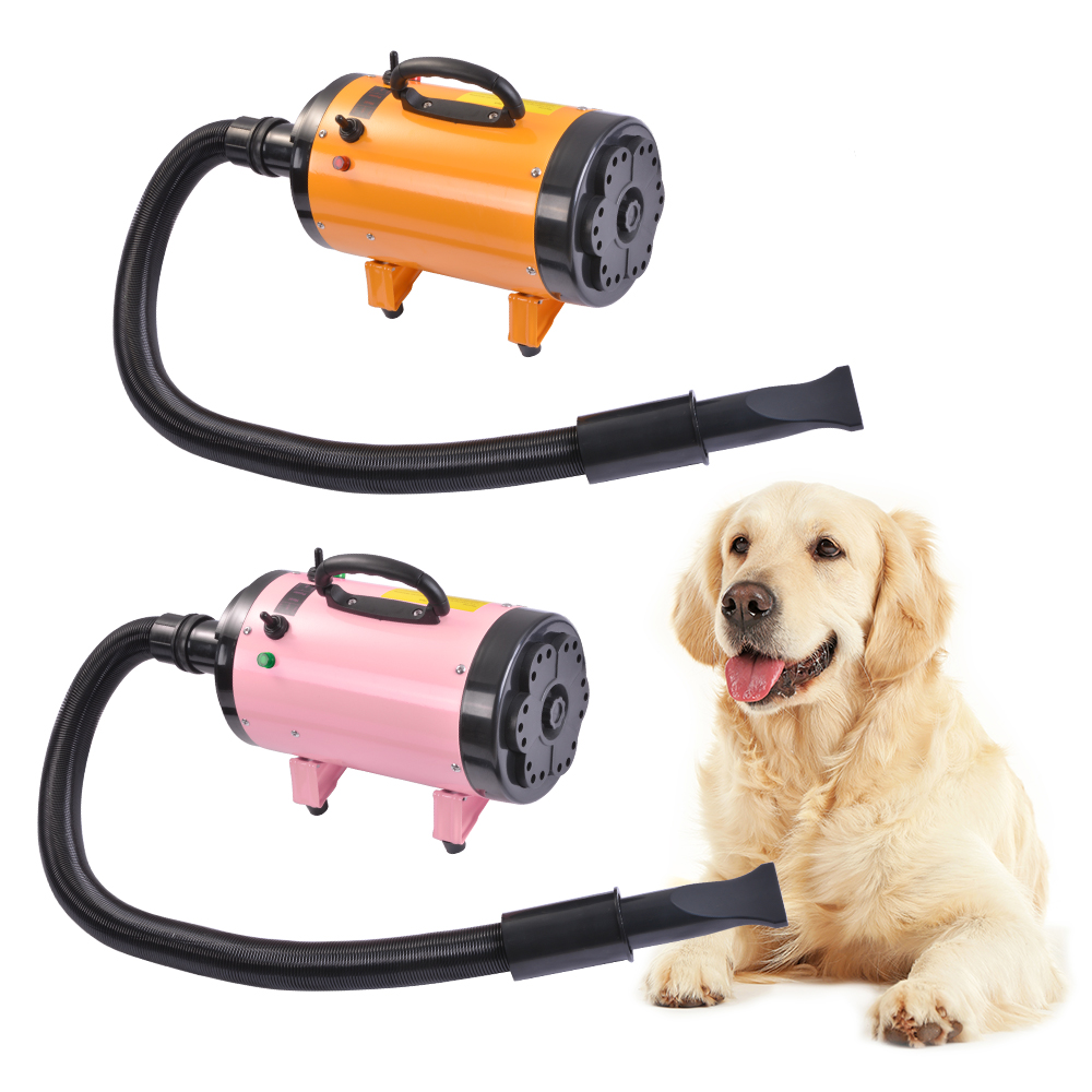 110v 60hz Pet Dryer Cat Dog Hair Grooming Heater Adjustable Speed Filter Blaster Blower