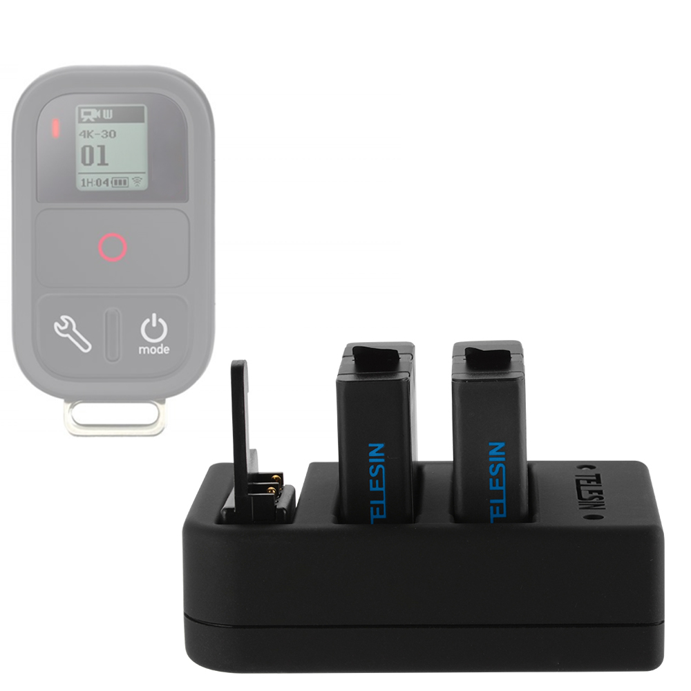 Multifunctional Charger Dual Battery Pack For Gopro Hero