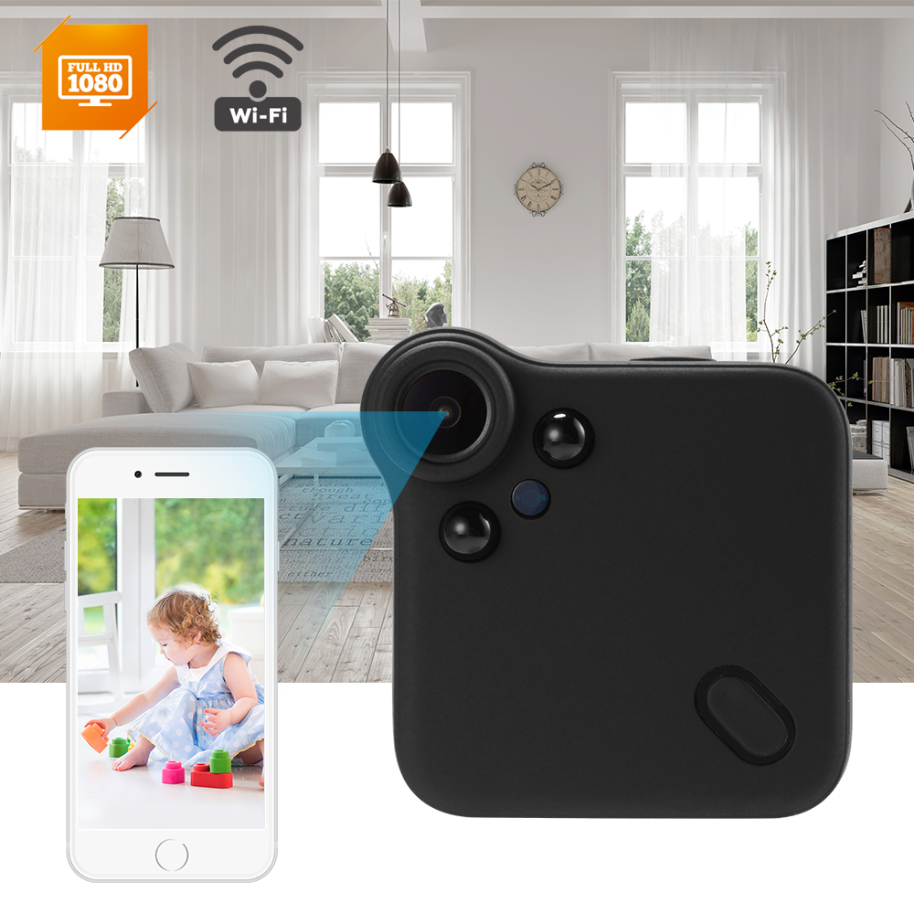 Details about C1S Mini Wireless IP Camera WIFI 1080P HD Night Vision with  Magnetic Mount OS999