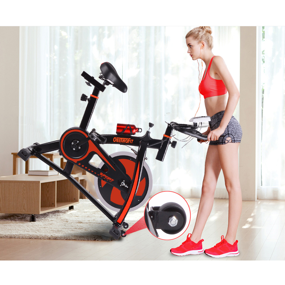 heimtrainer fitnessbike trimmrad hometrainer fitnessger t fahrrad indoor cycling ebay. Black Bedroom Furniture Sets. Home Design Ideas