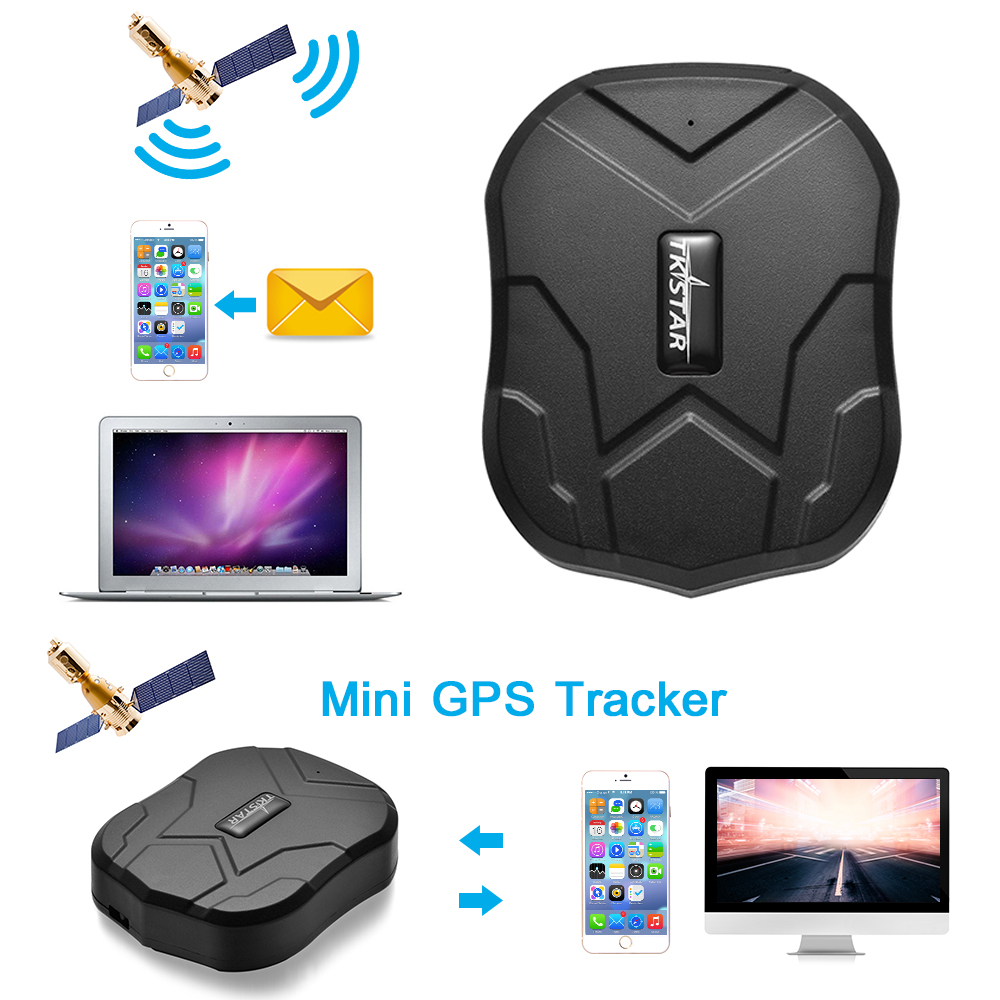 tkstar wasserdicht gps tracker real time tracking auto. Black Bedroom Furniture Sets. Home Design Ideas