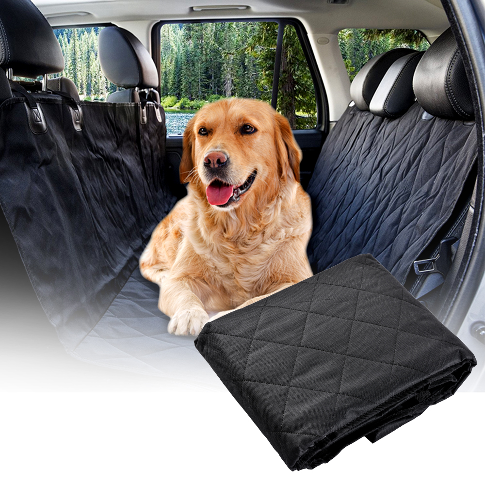 Details about Dog Car Seat Cover for Cat Pet SUV Door Van Back Rear Bench  Waterproof Hammock