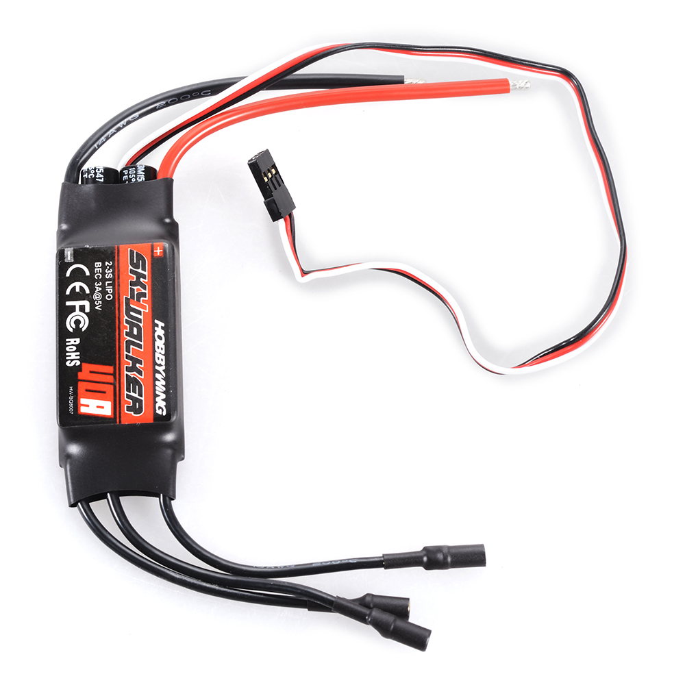 Hobbywing Skywalker 40a Brushless Esc Speed Controller With Bec Wiring Durable Rc283