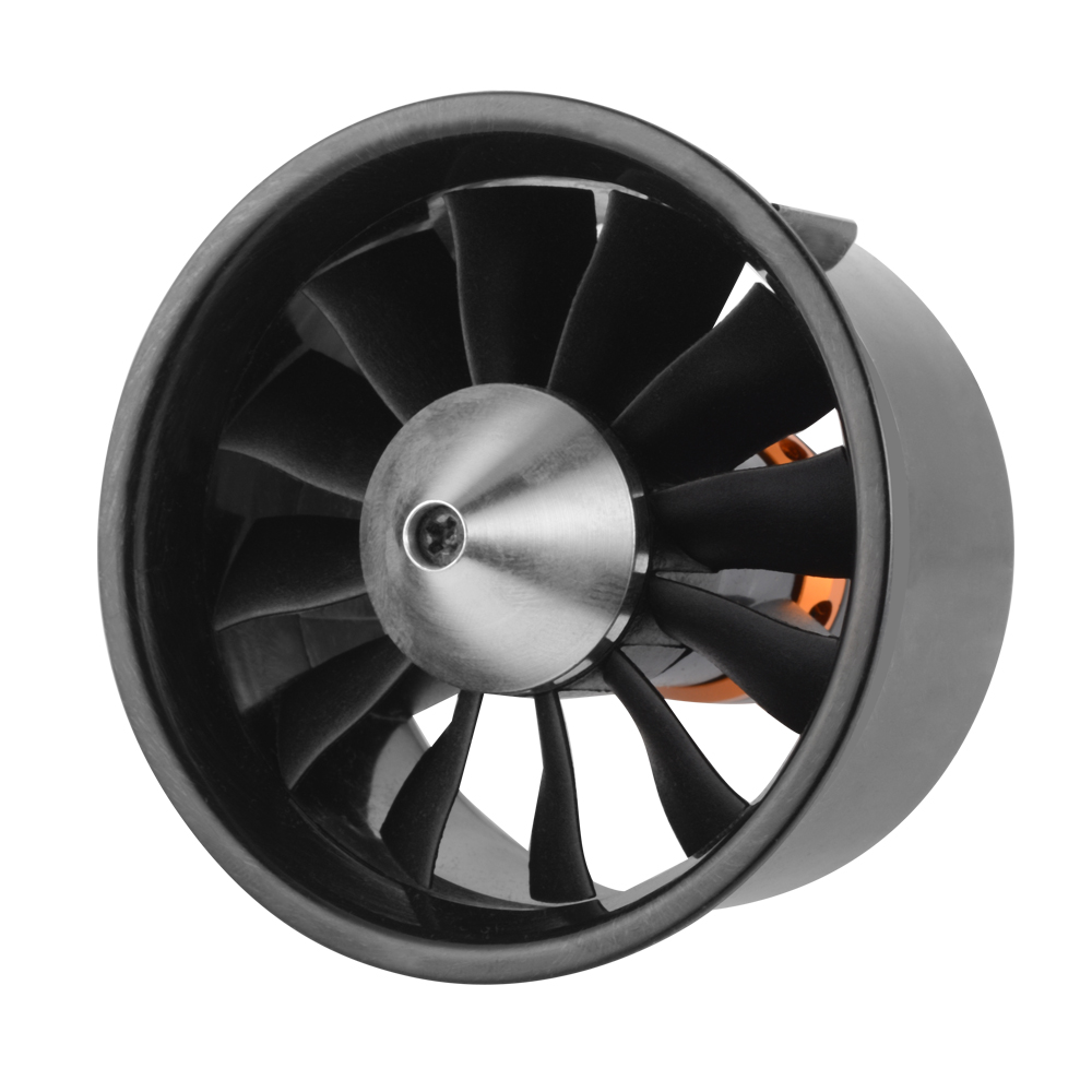 Details about Brushless Motor 64mm 12 Blades 2822 3500KV Ducted Fan for RC  EDF Aircraft RC872