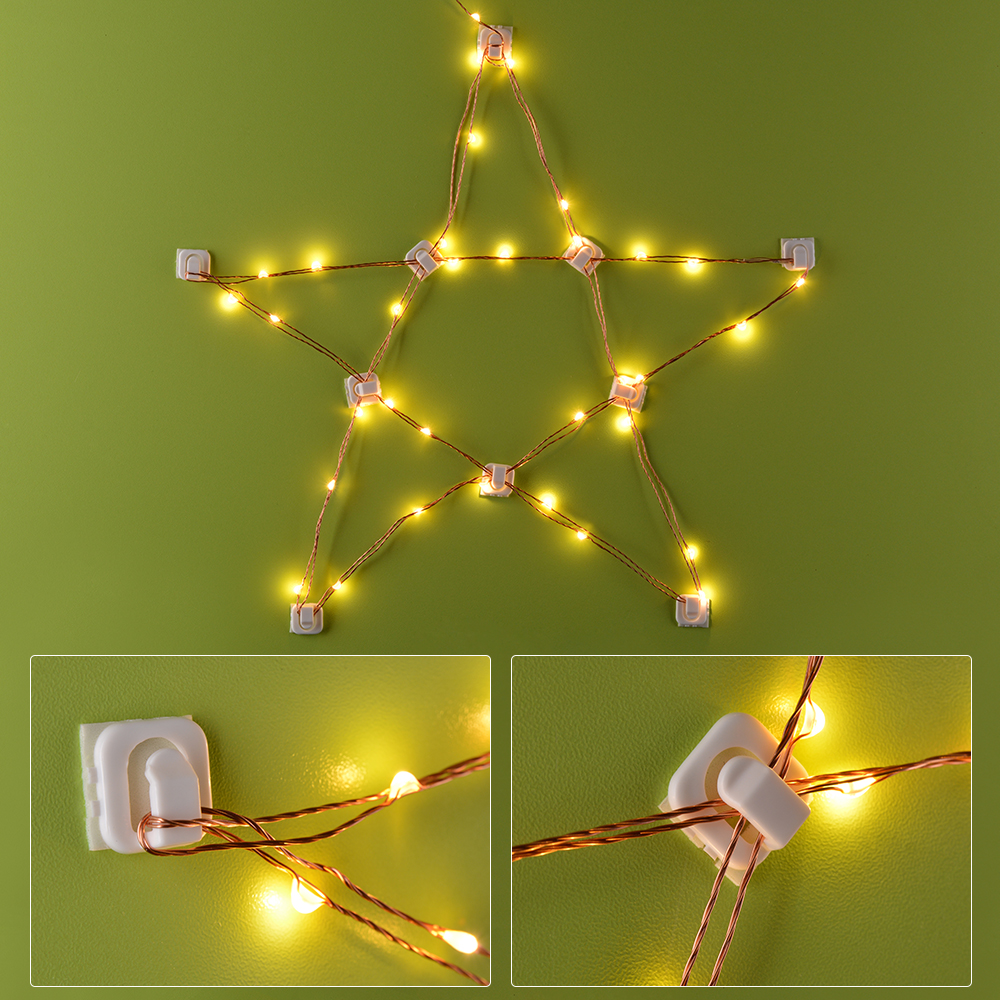 sunix waterproof led copper starry wire string fairy. Black Bedroom Furniture Sets. Home Design Ideas