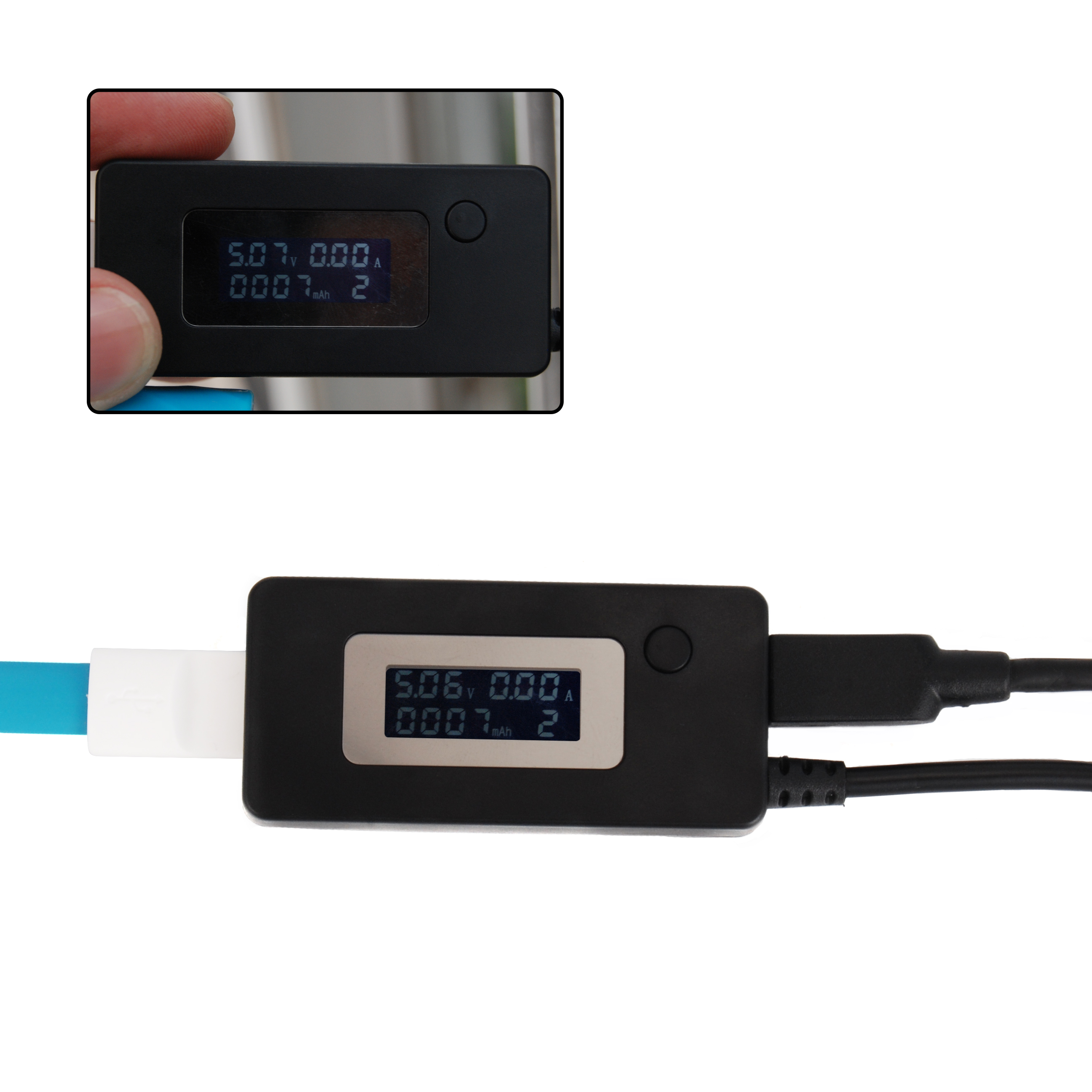 lcd usb current voltage detector