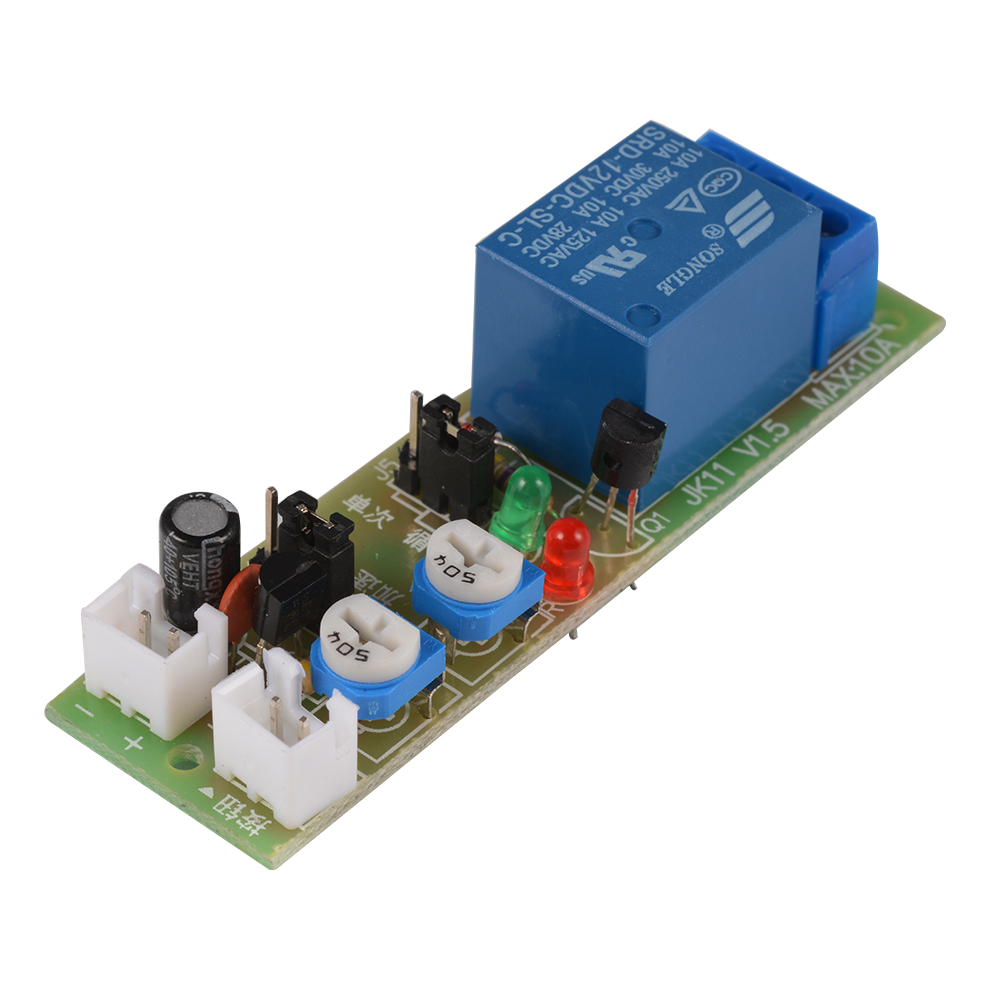 Dc 5v 12v 24v Infinite Loop Cycle Timing Timer Time Delay Relay On Switch Circuit Module W Vehicle Electrical Off