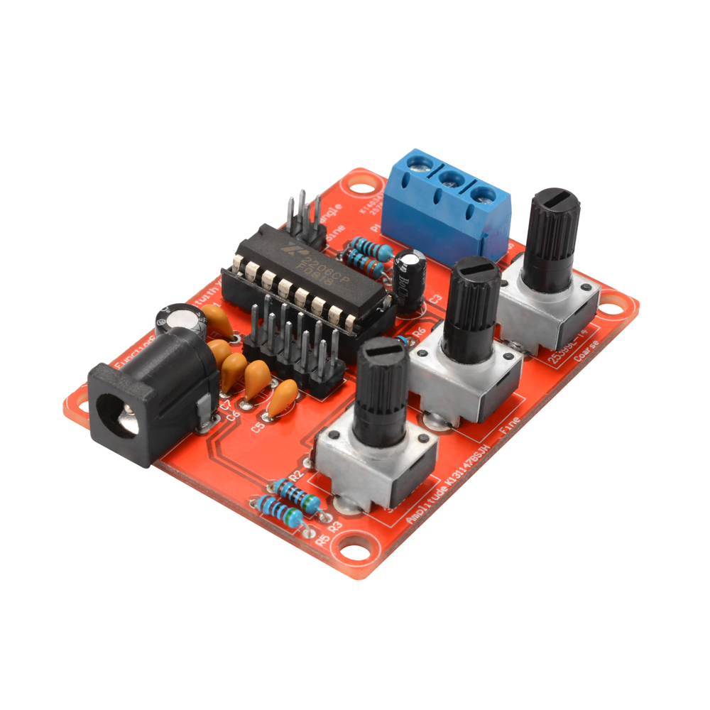 Xr2206 Dds Function Signal Generator Diy Sine Triangle Square 1hz Variable Wave Oscillator Circuit 1mhz Te788
