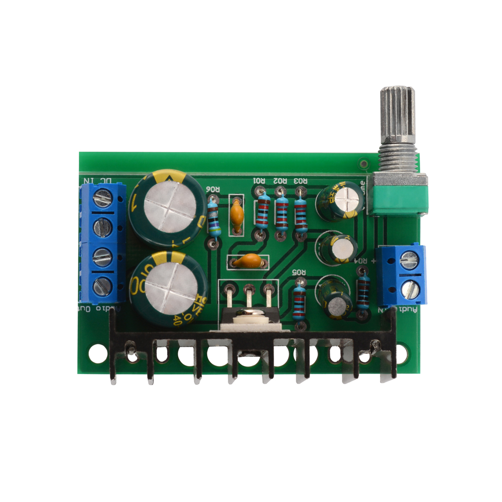 Tda2050 30w Mono Module Digital Audio Amp Board Power Amplifier Indicator For On Potentiometer To Regulate The Sound Volume Screw Terminals And Easy Connect Cable