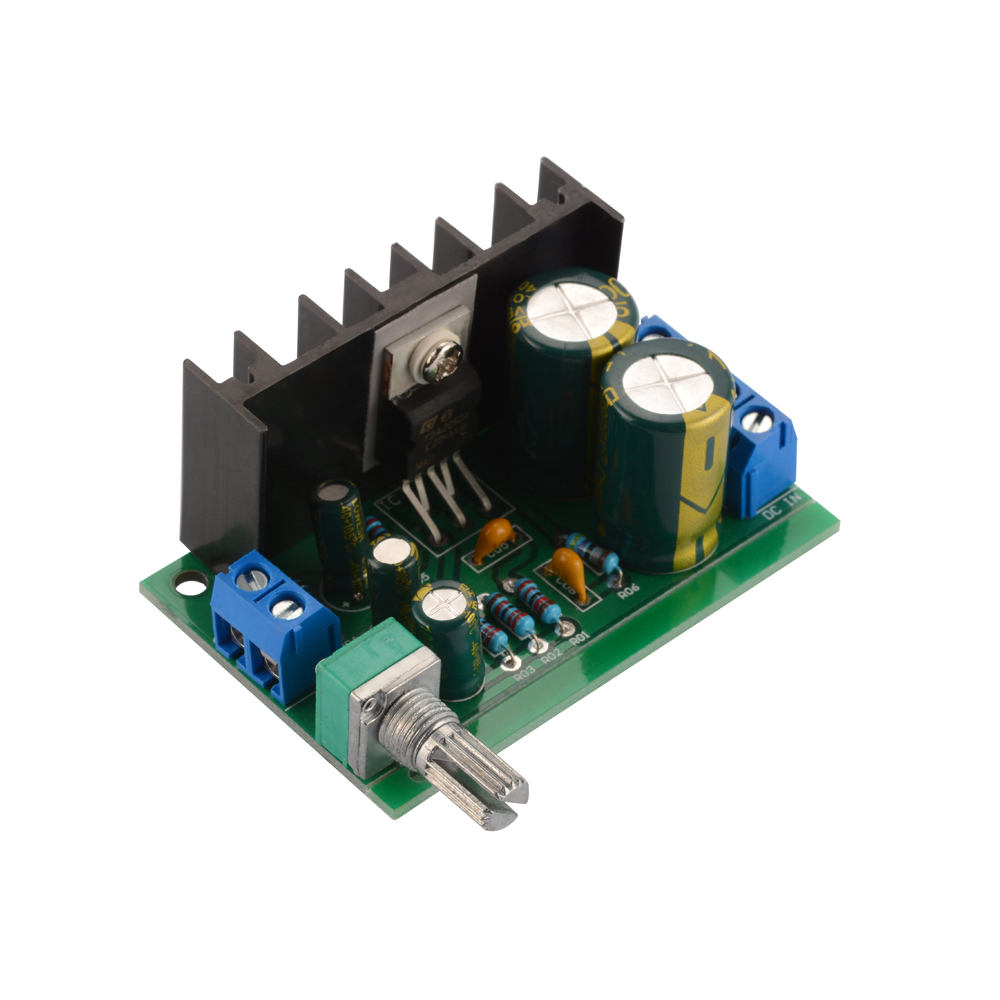 12 24v 30w Amp Mono Audio Amplifier Board Module Power Supply Indicator For Adjustable Te851