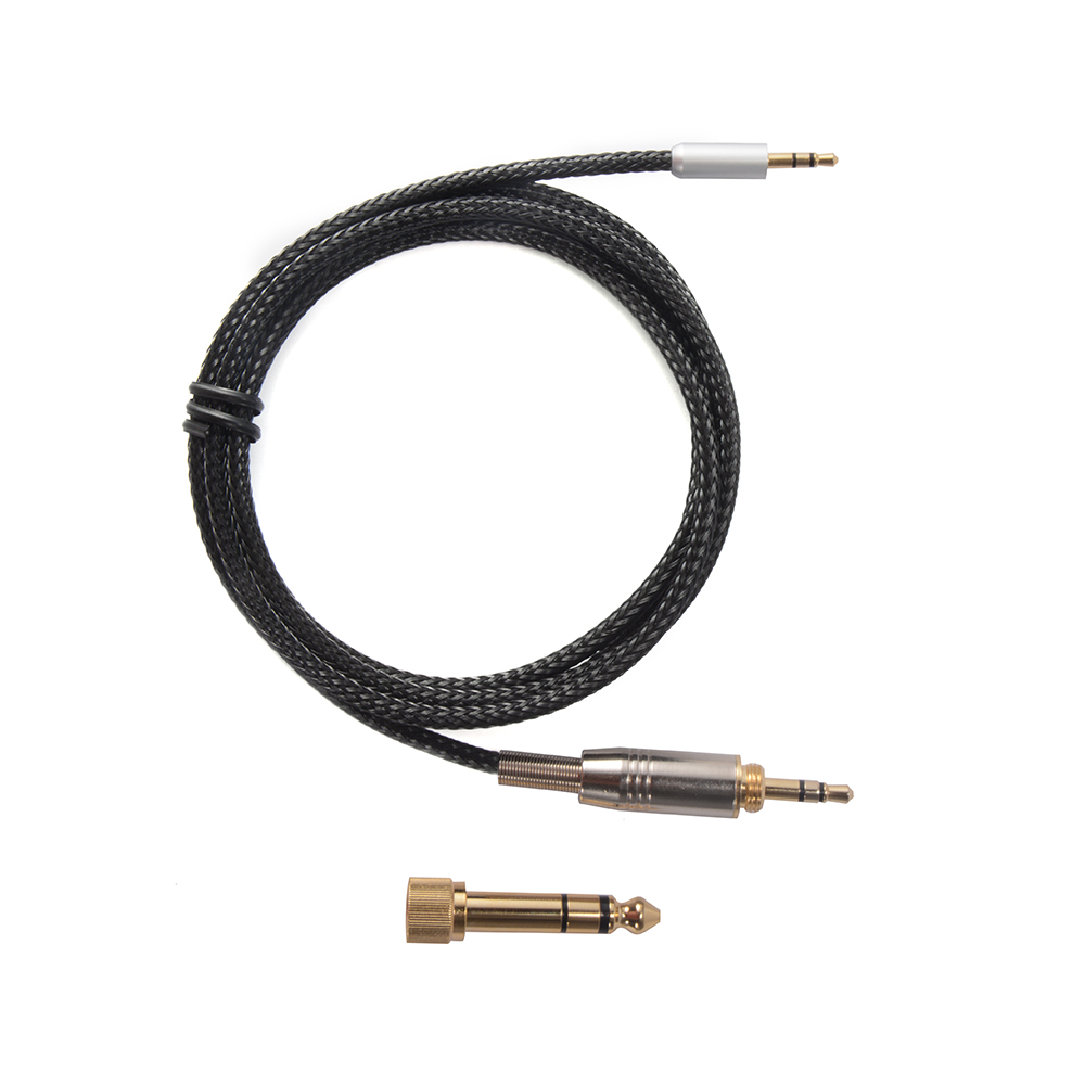 replacement audio plug to plug cable for sennheiser headphone urbanite xl th739 4894663164997